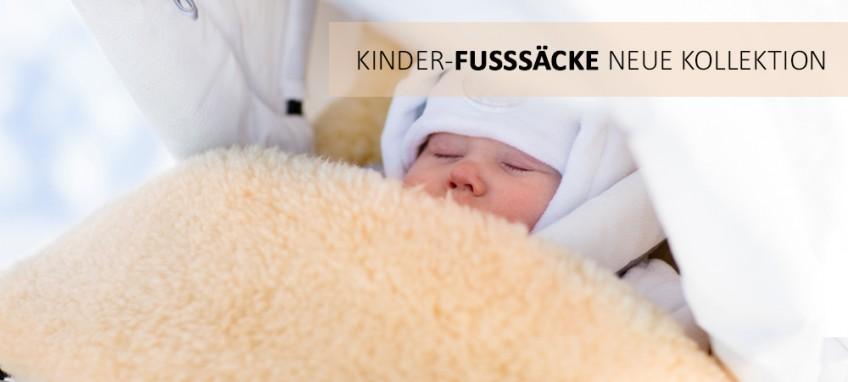 KINDER-FUSSSÄCKE
