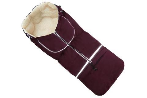 Fußsack NILS FELL 110 cm 6 Monate bis 4 Jahre | 40 Farben 02 Bordeaux