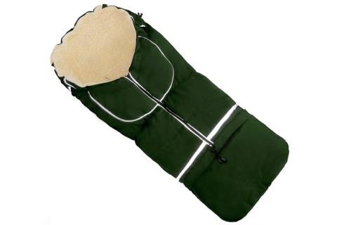 Fußsack NILS FELL 110 cm 6 Monate bis 4 Jahre | 40 Farben 04 Olivgrün