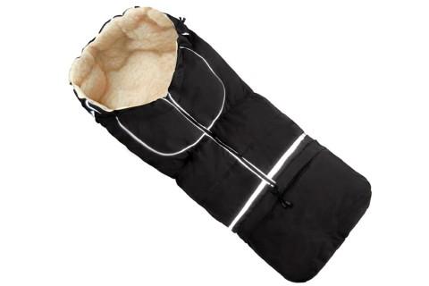 Fußsack NILS FELL 110 cm 6 Monate bis 4 Jahre | 40 Farben 15 Schwarz