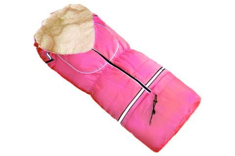 Fußsack NILS FELL 110 cm 6 Monate bis 4 Jahre | 40 Farben 17 Pink
