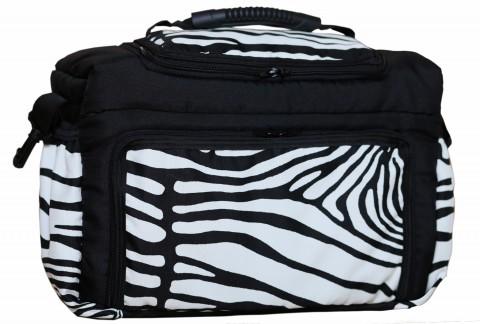 Wickeltasche KIM XXL Reisetasche Windeltasche Babytasche 27 Zebra